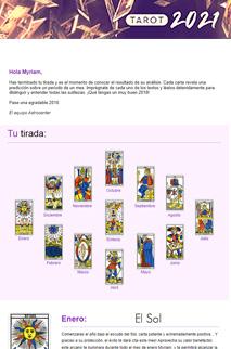 Tarot anual 2021 : tu futuro en 12 cartas
