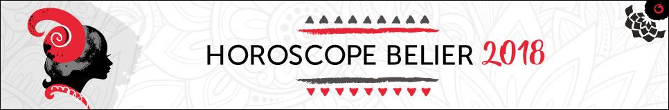 Horoscope 2018 Bélier