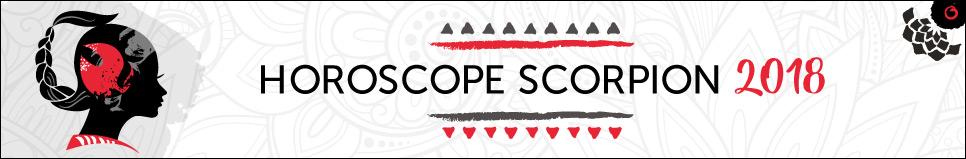 Horoscope 2018 Scorpion
