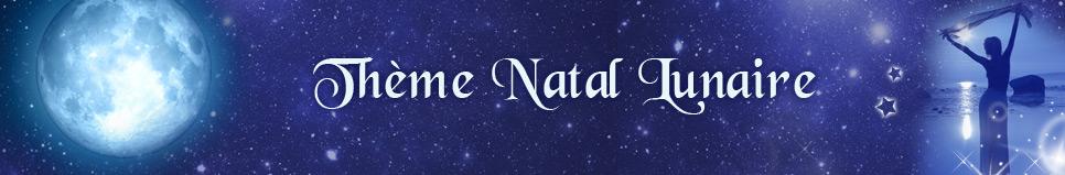 Thème natal lunaire