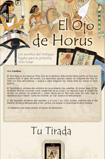 El Tarot Egipcio - El ojo de Horus