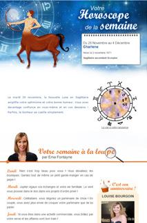 Horoscope de la semaine premium