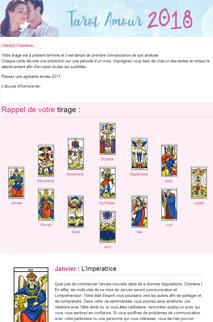 Tarot Amour 2018