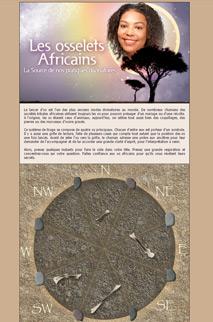 Osselets africains