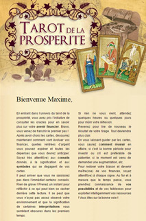 Tarot de la prospérité
